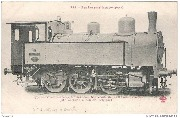 Type de locomotive-tender, 6 roues accoupl�es, construite par la Soci�t� anonyme John Cockerill � Seraing