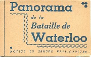 Panorama de la Bataille de Waterloo-Notice et cartes explicatives